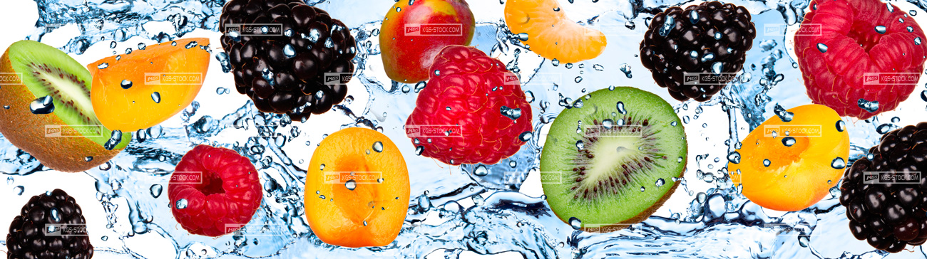 100206 Splashbacks Fruits Design For Kitchen