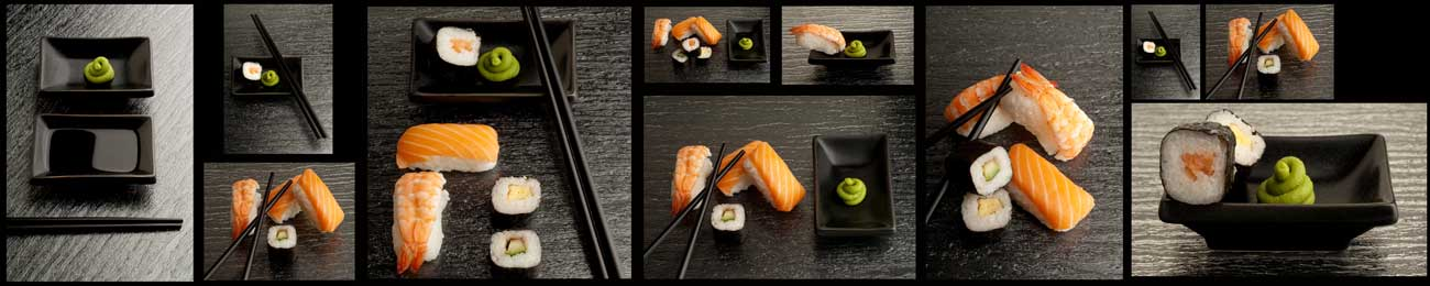 Splashbacks Glass design - Luxury Sushi - 100227 Image