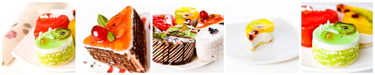 Дизайн для скинали - Tasty cakes with fruits - 100251 Image