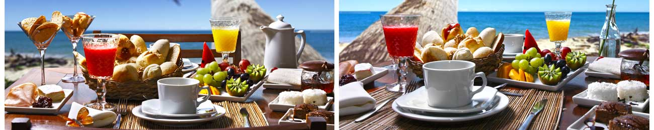 Дизайн для скинали - Amazing breakfast at the beach - 100254 Image