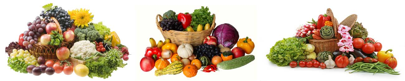 Дизайн для скинали - Fruits and vegetables baskets - 100263 Image