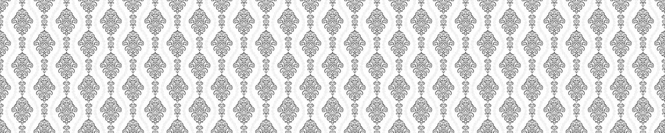 Splashbacks Glass design - Ornaments and white background - 100864 Image