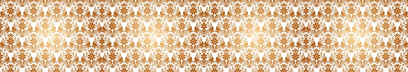 Splashbacks Glass design - Golden Ornaments - 100865