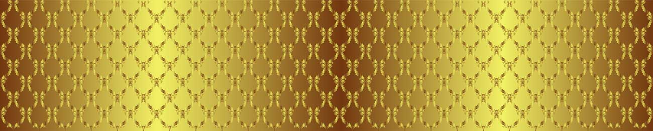 Splashbacks Glass design - Shining golden ornaments - 100874 Image