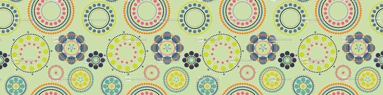 100804 Colorful Circles For Skinali Designs