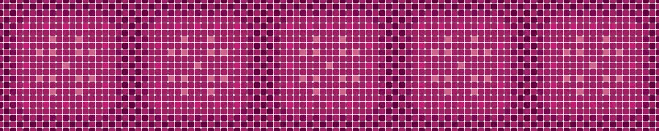 Splashbacks Glass design - Purple mosaic pattern - 100848 Image