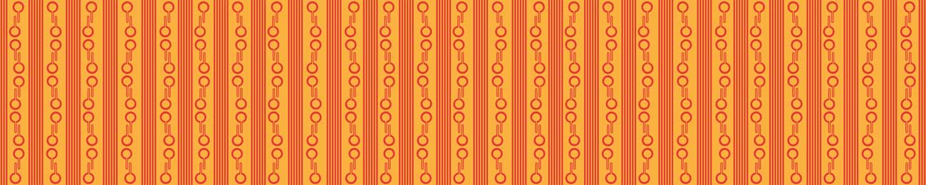 Splashbacks Glass design - Orange color pattern - 100849 Image