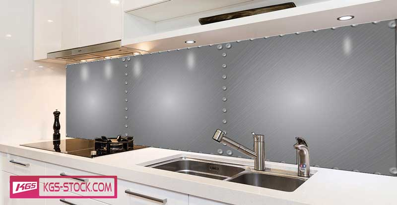 Splashbacks Glass design - Metallic texture - 100879