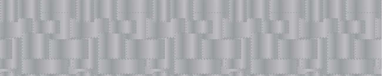 Splashbacks Glass design - Metallic sheet texture - 100881