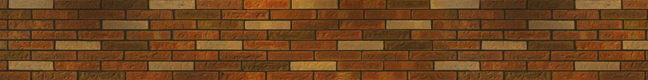 Splashbacks Glass design - Red brick wall texture for kitchen - 100895 Image