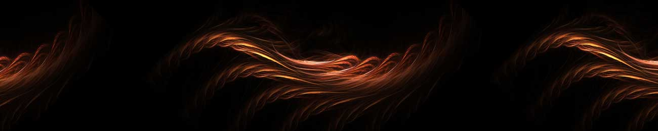 Splashbacks Glass design - Burning lines in the dark - 100355 Image