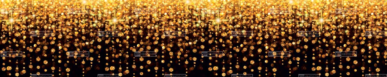 Splashbacks Glass design - Golden Star Fall - 100301 Image