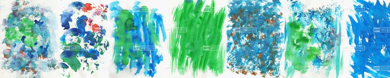 Splashbacks Glass design - Water color Painting - 100306