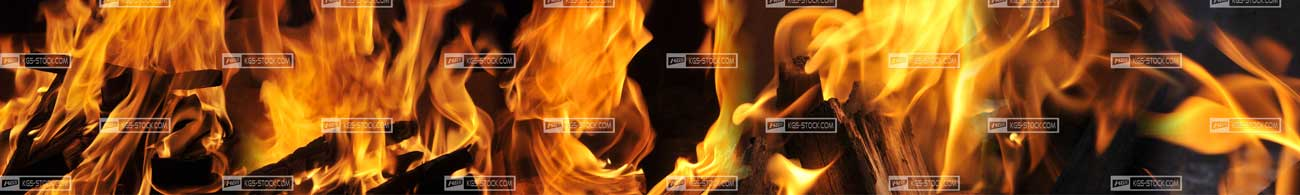 Splashbacks Glass design - Fire flame - 100307