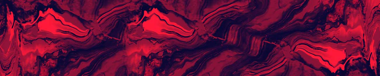 100337 Blody Red Abstract Design For Kitchen Glass Print