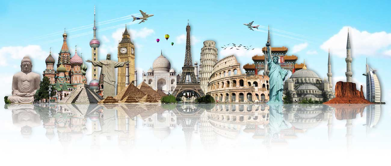 Splashbacks Glass design - Cities of the world - 100118 Image