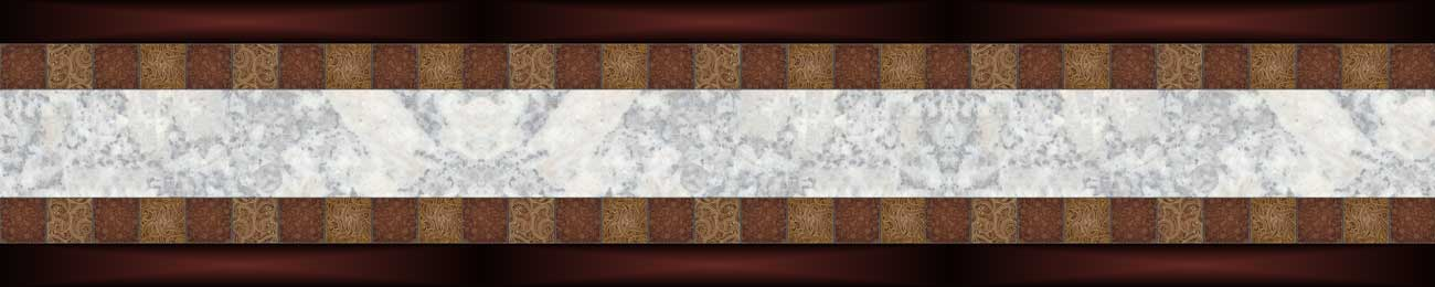 Дизайн для скинали - Marble and flowal background - 100724 Image