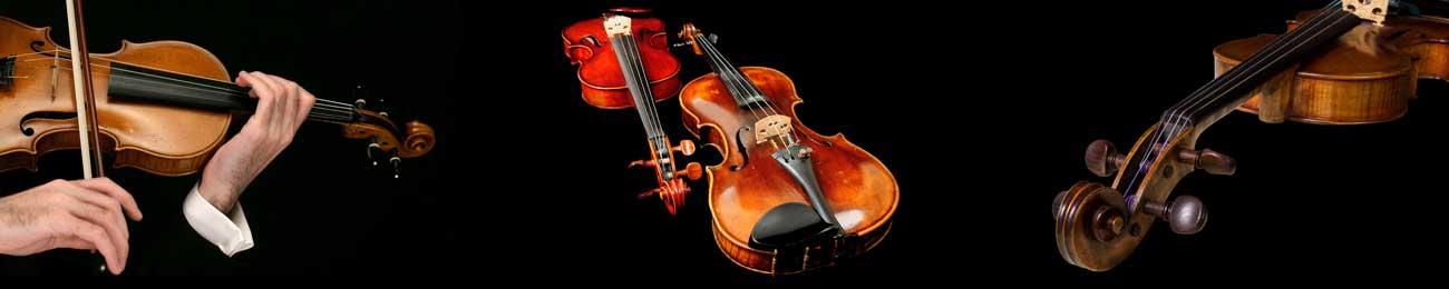 Splashbacks Glass design - Violin in the dark - 100734