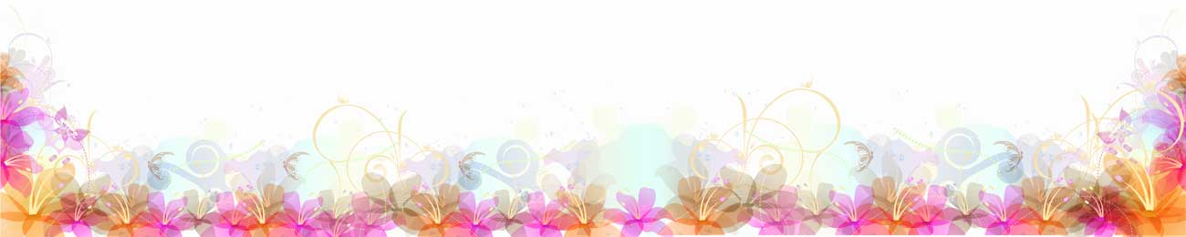 Splashbacks Glass design - Purple and pink flowers - 100552 Image