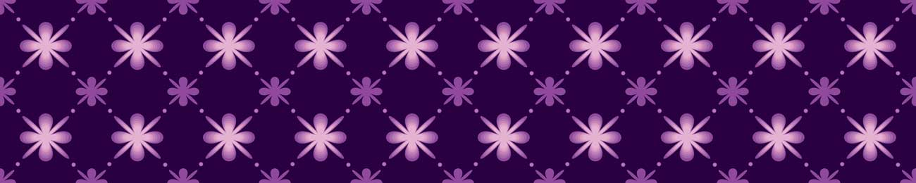 Splashbacks Glass design - Purple flowers - 100523 Image