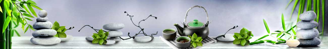 Splashbacks Glass design - Japenese Tea Ceremony and Bamboo - 100445 Image