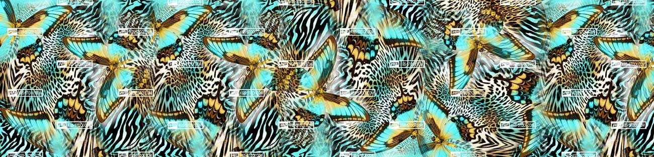 Splashbacks Glass design - Butterflies - 100403 Image